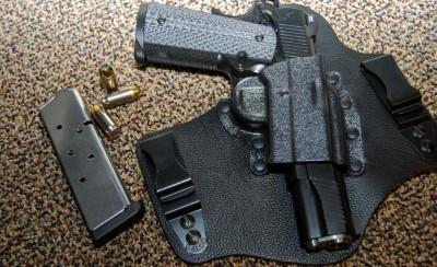 The Galco KingTuk IWB holster.