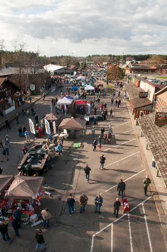 Communities around the area get in on the fun. The entire main street of Nisswa became a family fun zone for the weekend as a free picnic and other events drew large crowds.