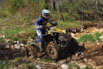 Kevin Trantham expanded his class points lead in the GNCC 4x4 Pro class with his victory at round five in Indiana.