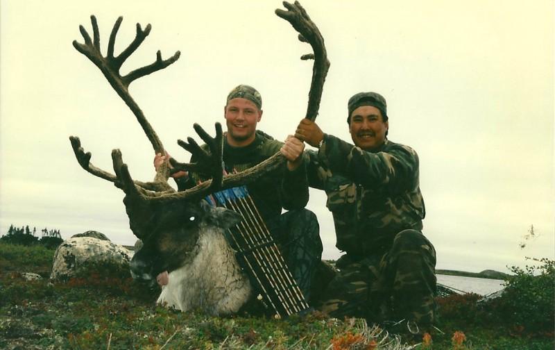 Reagan's B&C record caribou. Image courtesy Dennis Dunn.