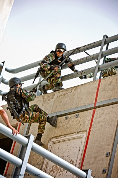 "The 6TH Annual ""International"" Warrior Competition at the King Abdullah II Special Operations Training Center."