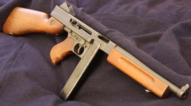 A fully-transferable Thompson submachine gun from a private collection.