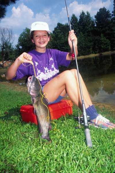 Going catfishing doesn't have to be a big deal. Many small streams, rivers, creeks, ponds, and lakes close to home can provide excellent bank-fishing spots for anglers who want to catch cats.