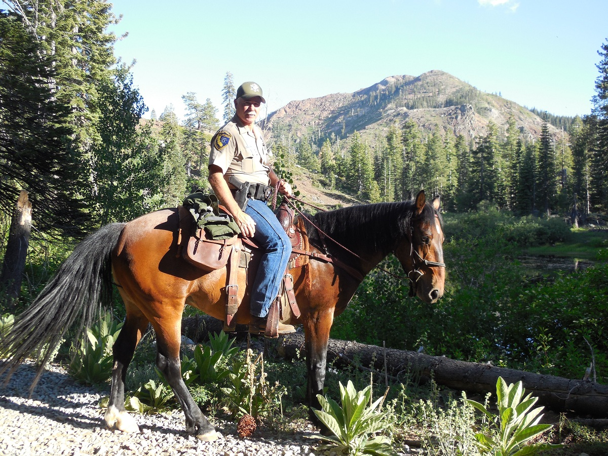 California game wardens establish mounted patrol unit for Nevada game and fish