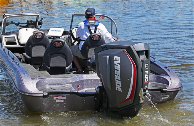 Evinrude launches new g2 outboard outdoorhub for General motors marine engines