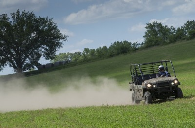 While not a speedster, the Pro FXT will top out around 45 mph, plenty fast for a recreational or utility machine.