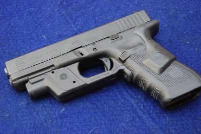 At last year's M3GI, the author used a Glock 17 with a rear-activated laser and front-activated light.