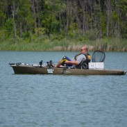 Kayaks such as this pedal-powered Hobie Pro Angler make an excellent trolling platform when panfish are the target.