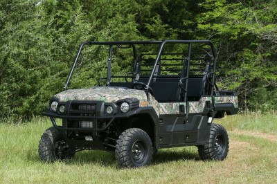 The new Kawasaki Mule Pro-FXT blurs the lines between work and play, making it one of the most capable Mule vehicles to date.