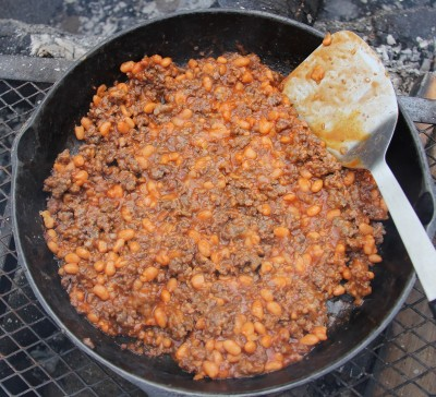 Cowboy stew is fast, easy, and delicious. I have fed this campfire meal to many people over the years and everyone loves it.