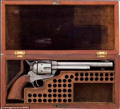 This Colt 1873 Frontier Six Shooter remained in Cody's personal collection even after the end of his Wild West Tour.
