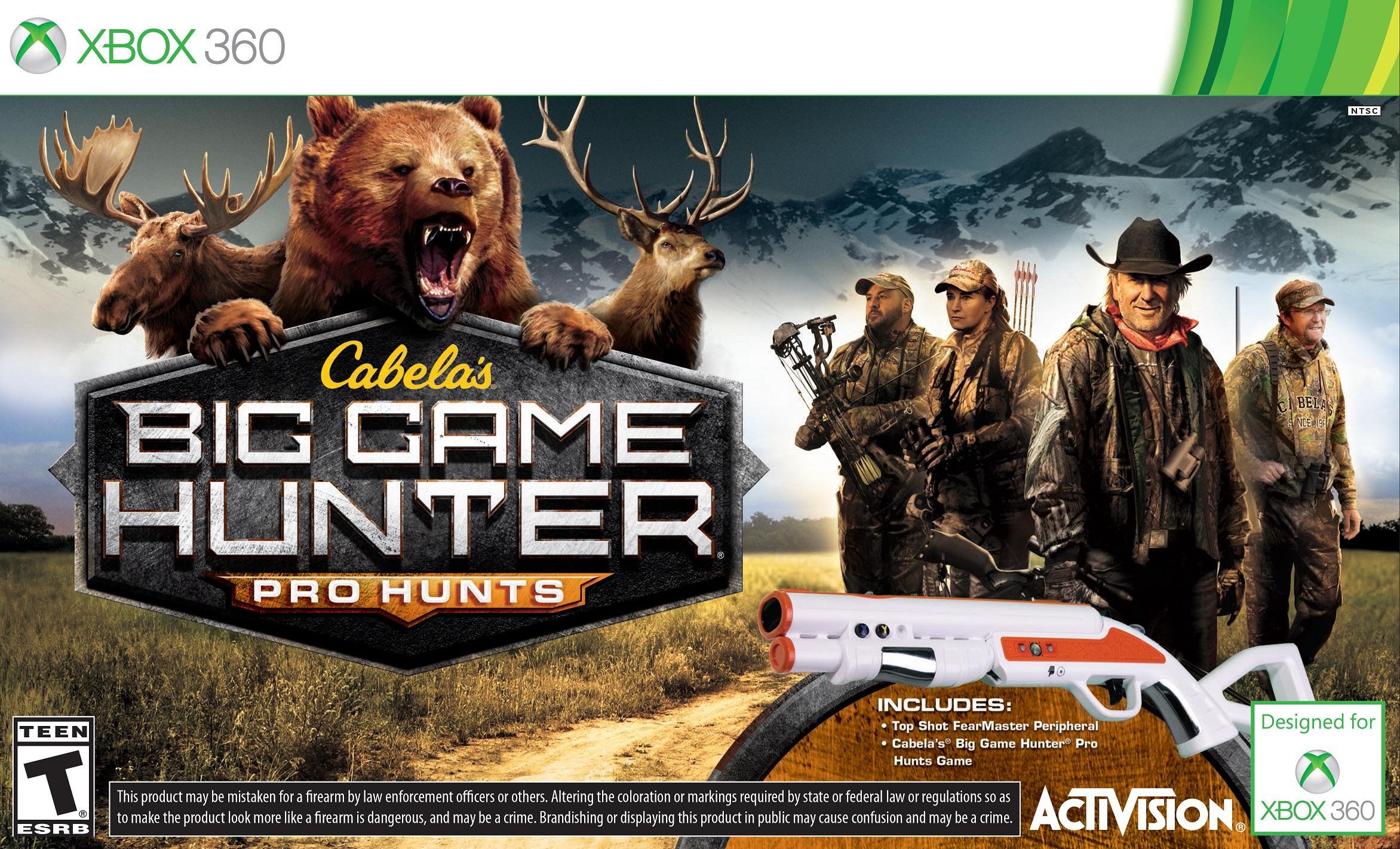 Cabela's Big Game Hunter: Pro Hunts for Xbox 360 Reviews ...