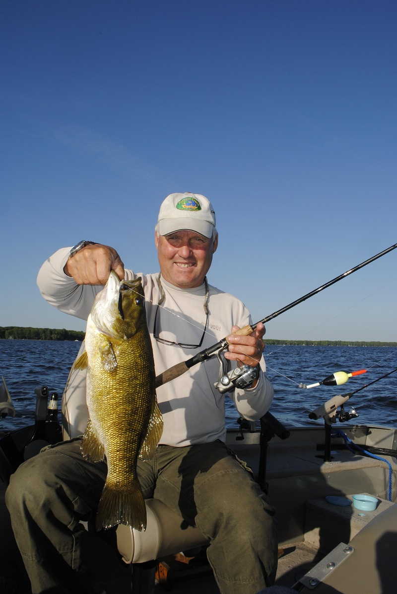 Slip bobbers produce results on michigan 39 s largest inland for Slip bobber fishing