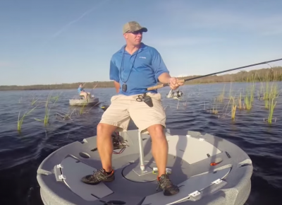 Is this ufo shaped skiff the future of personal watercraft for Personal fishing boat