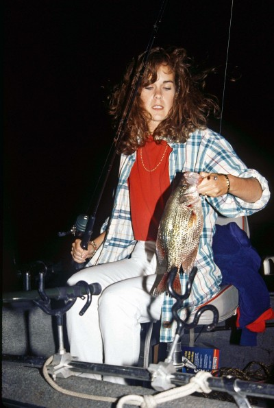 Even if your area has some cooler nights this summer, the crappie still will keep biting at night well into the fall.