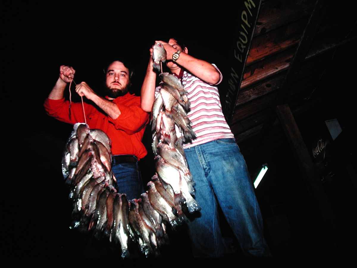 Fishing hot weather nights for crappie outdoorhub for Crappie lights for night fishing
