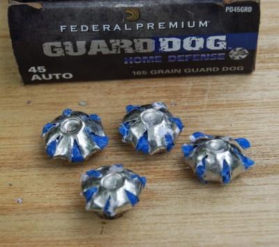 Expansion results for Federal Guard Dog EFMJ were impressive.