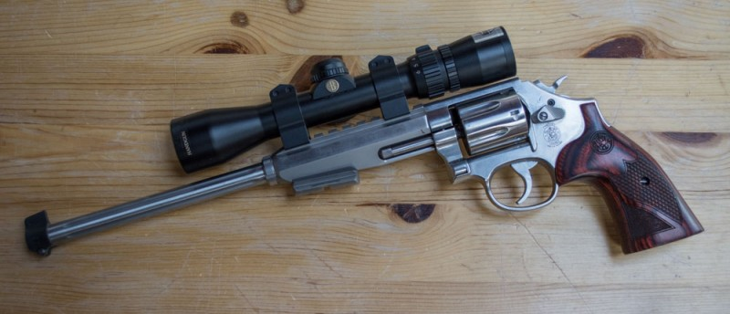 The author had more fun than he could handle with the Smith & Wesson 647 Varminter .17 HMR revolver.