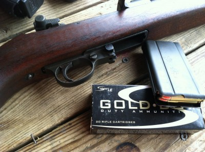 Got a surplus M1 Carbine? Try putting some modern self-defense ammo like this Speer Gold Dot through it.