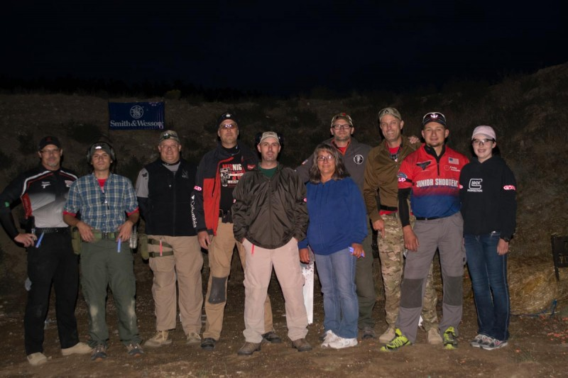 Lucky 13—the best squad ever! That's me on the left and Matt Korovesis, OutdoorHub editor next to me.