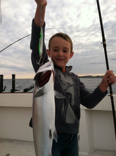 Kids love to catch fish, so now's a great time to get kids out on the water. Chase Frolenko loves fishing with his dad whenever he can.