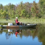 Pipestone Lake is one of many smaller Michigan lakes that doesn't get a lot of fishing pressure and offers much scenic beauty.