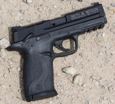 An 87.5% scale version of the original, it's just the right size for a .22LR pistol.