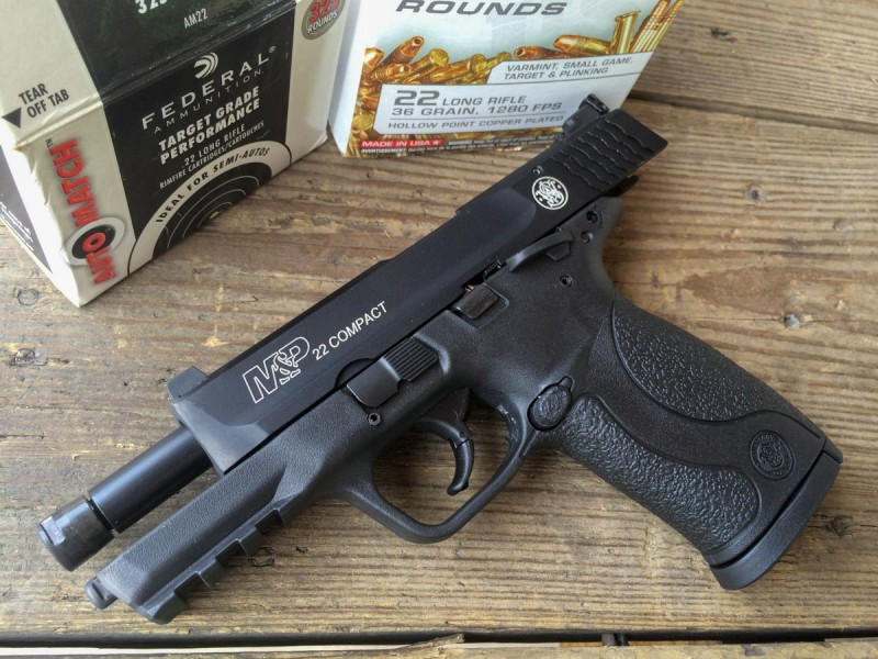 A Big Little Surprise from Smith & Wesson: The M&P22 Compact