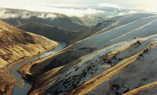 The Yakima River entering the Ellensburg Canyon. Image by Dennis Dunn.