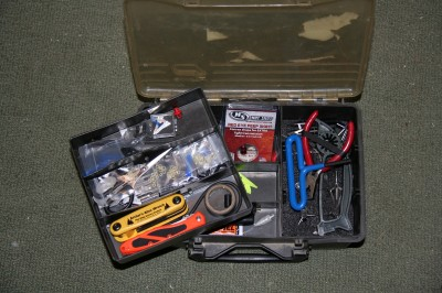 A simple tool kit with basic tools and spare parts can make the difference between staying on stand all day versus travelling to an archery shop and having a simple repair or replacement done.