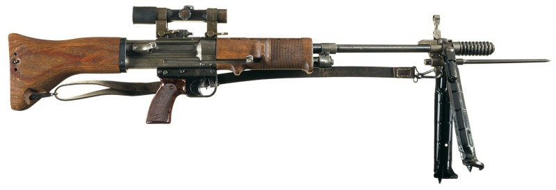 Out of the 5,000 that were made, only 26 of these rifles exist in the US.