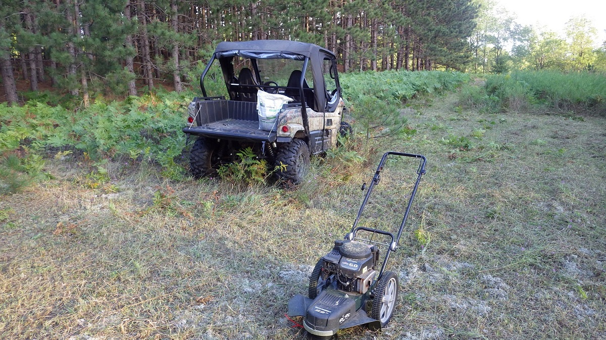 5 Steps For Making Your Own Quot Hail Mary Quot Food Plot Outdoorhub
