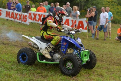 ITP-supported Jordan Digby was in seventh place after the first lap, but climbed into the lead by lap two and never looked back on his way to winning the 125 Sr. (12-15) youth class at the Can-Am Unadilla GNCC.