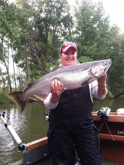 This year has already seen some really big king salmon run up the rivers to awaiting anglers.