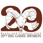 Boone and Crockett 29th Big game awards logo
