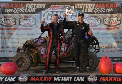 Kyle Chaney, and co-pilot Chris Bithell, earned three wins and four total podiums in six rounds of side-by-side racing to win the GNCC XC1 Modified SxS class championship with his Can-Am Maverick 1000R.