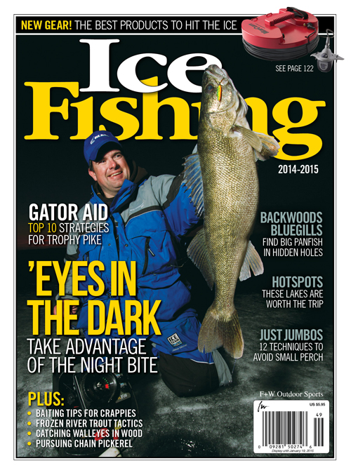 Annual Ice Fishing Magazine Arrives On Newsstands