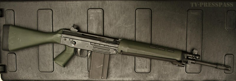 The FAMAE SG 542, the .308-chambered big brother of the SAF.