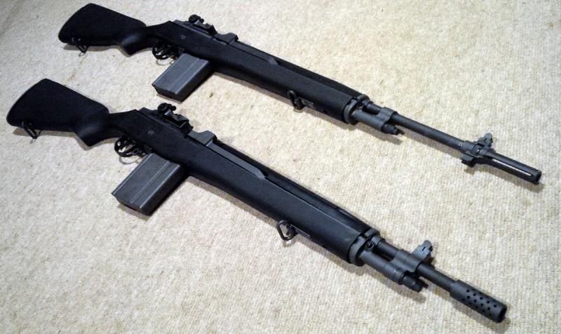 A pair of Norinco M305 M14 clones.