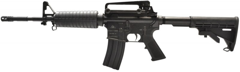 Nope, this DA 556 isn't an American-made AR--it's a Chinese clone.