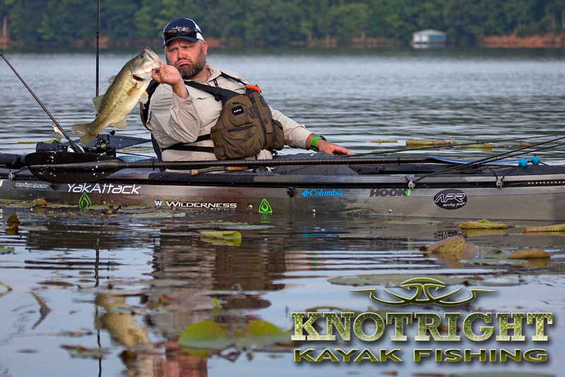 season 3 premiere of knot right kayak fishing airs on nbc sports tuesday  october 7th