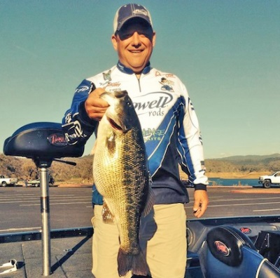 Keith Bryan's spotted bass nabbed the world record.