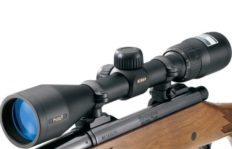 A Nikon PROSTAFF scope.