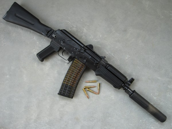 A shorty AK build in 300 BLK. We'd love to see a commercially available version of this. Image from AAC Blog.