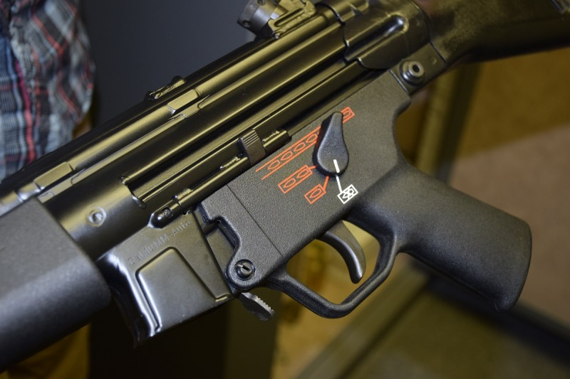Who doesn't want a 10mm MP5? Image by Matt Korovesis.