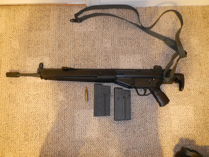 Being to able to buy more all-original HK rifles, like this paratrooper model HK91, is always a good thing. Image by Edward Pierz.