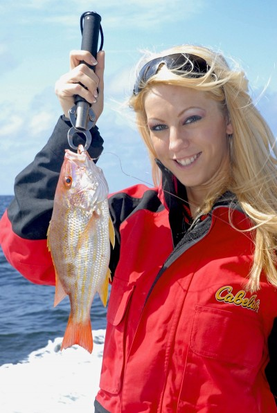 The red snapper is not the only snapper that anglers catch at this time of year off the Upper Gulf Coast, but also lane, gray and vermilion snapper.
