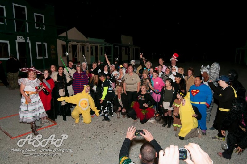 Halloween group photo. Image by ASAP Photography.