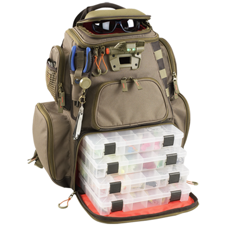 The WildRiver Tackle Tek backpack. Image courtesy WildRiver.