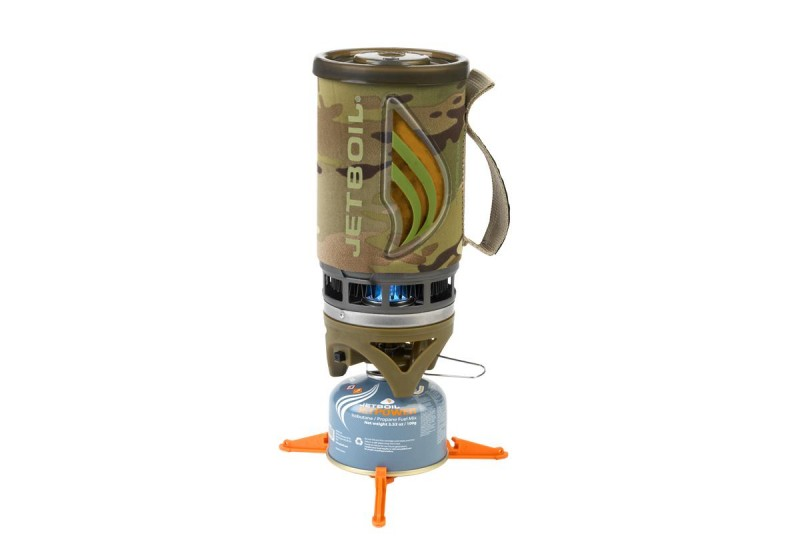 The JetBoil Flash in camo. Image courtesy JetBoil.